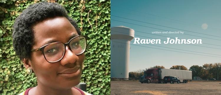 Headshot of scrennwriter Raven Johnson